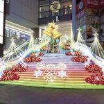 川崎ルフロンのクリスマスイルミネーションの開催期間や点灯時間は?駐車場もチェック!